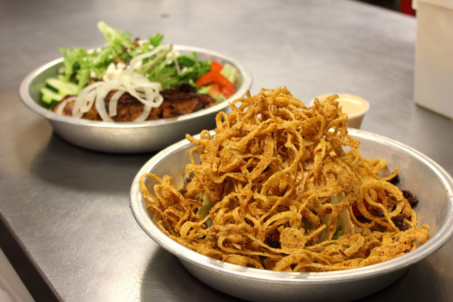 Onion Strings BBQ Sides